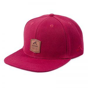 Asenne Surf Co. burgundy snapback